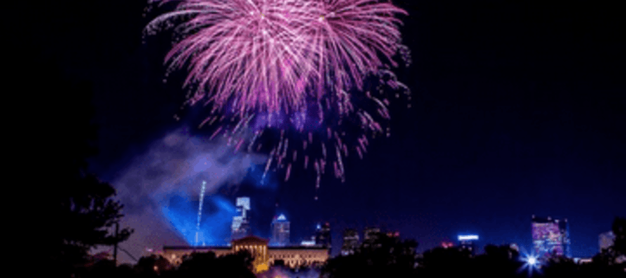 Philadelphia's 4th of July Party on the Parkway