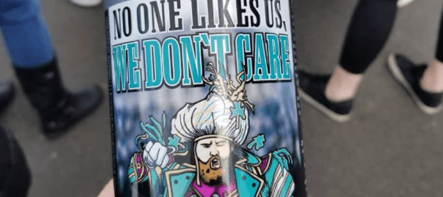 """No One Likes Us, We Don't Care"" Craft Beer"