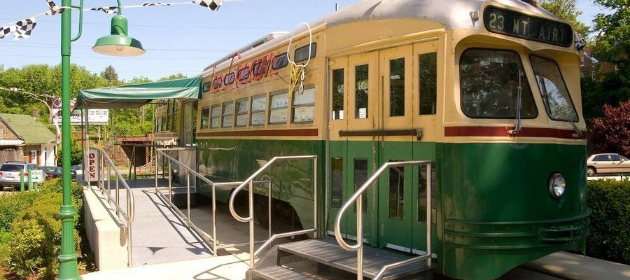 Trolley Car Diner A Mount Airy Mainstay