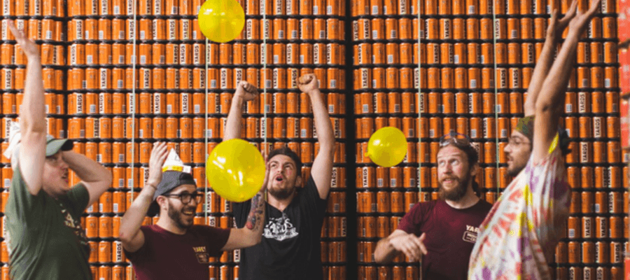Yards Brewing Company - Best Local Brewery Warehouse Party