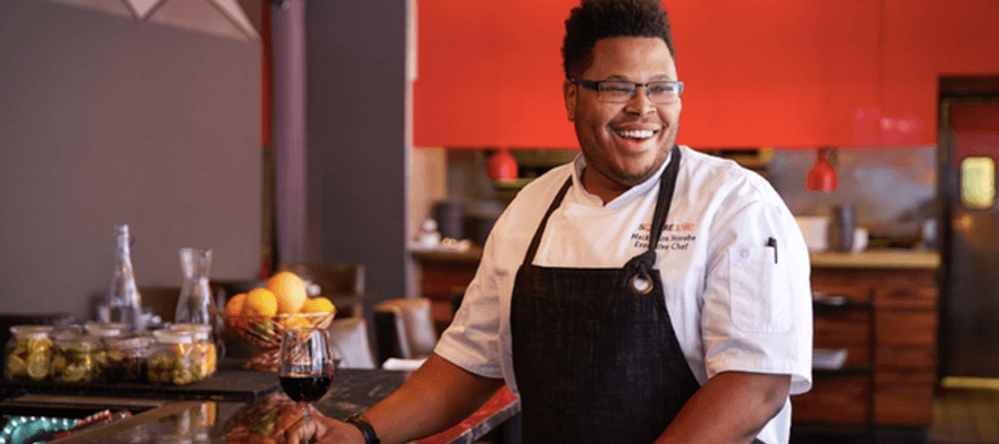 Square 1682 New Executive Chef Mackenson Horebe
