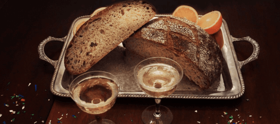 Baker St. Bread Company Exclusive New Year's Champagne Bread