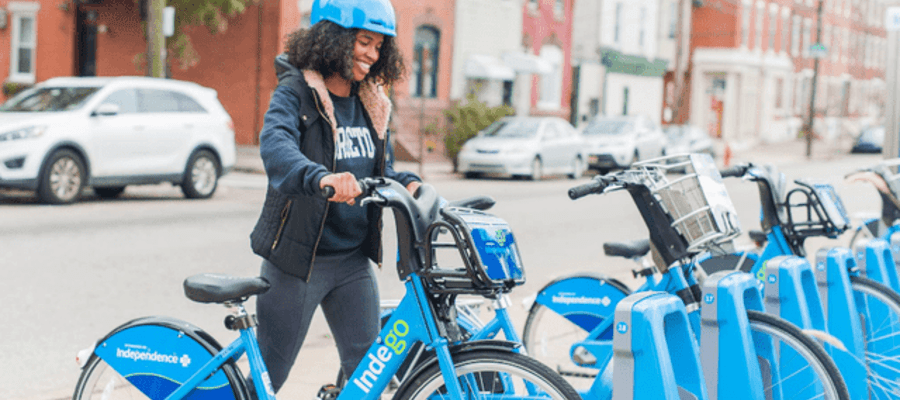 Indego Bike Program Expands to South Philadelphia and Navy Yard