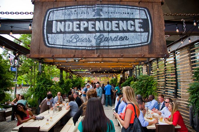 Philly's Independence Beer Garden: Exclusive Sampling Event