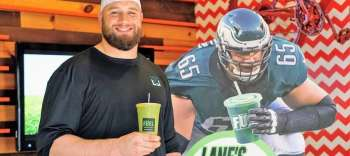 Eagles' Offensive Tackle Lane Johnson & Fuel, Partner with CHOP