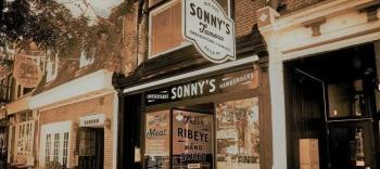 Located in the heart of Old City, this little restaurant has that butcher shop, vintage, neighborhood feel, where you can watch your cheesesteak as it's made.