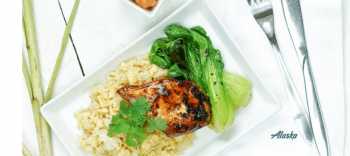 Alaska Airlines Offers Elevated First Class Menus