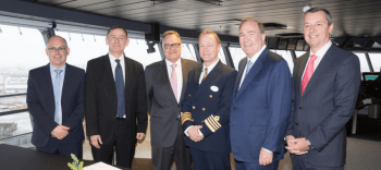 Royal Caribbean Welcomes The World's Largest Cruise Ship