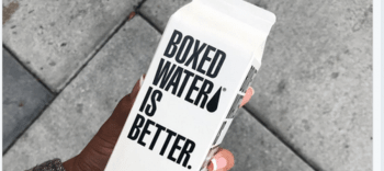Boxed Water Sustainably Packaged Water