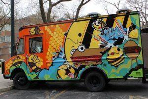 Tyson Bees Food Truck